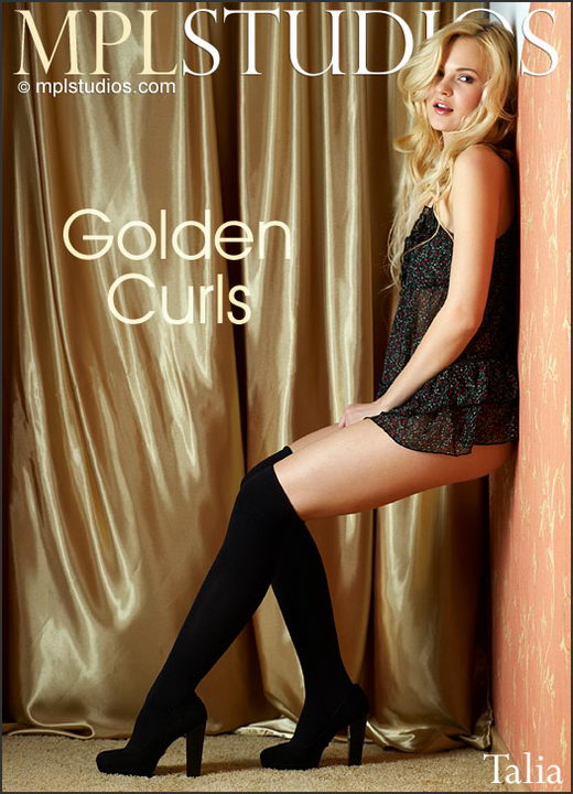 Talia - `Golden Curls` - by Jan Svend for MPLSTUDIOS