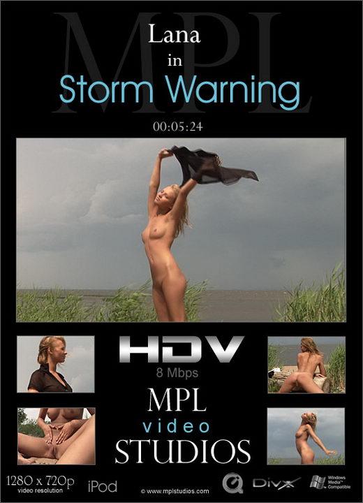 Lana - `Storm Warning` - by Alexander Fedorov for MPLSTUDIOS