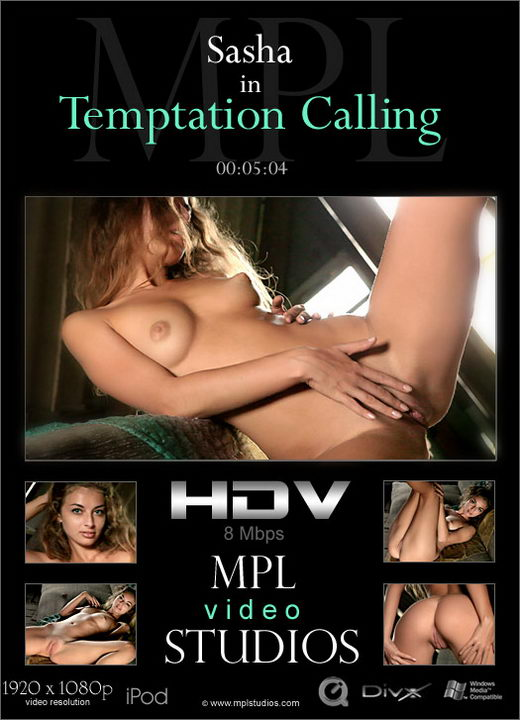 Sasha - `Temptation Calling` - by Nudero for MPLSTUDIOS