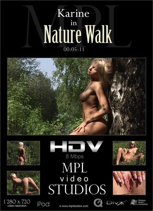 Karine - `Nature Walk` - by Alexander Fedorov for MPLSTUDIOS