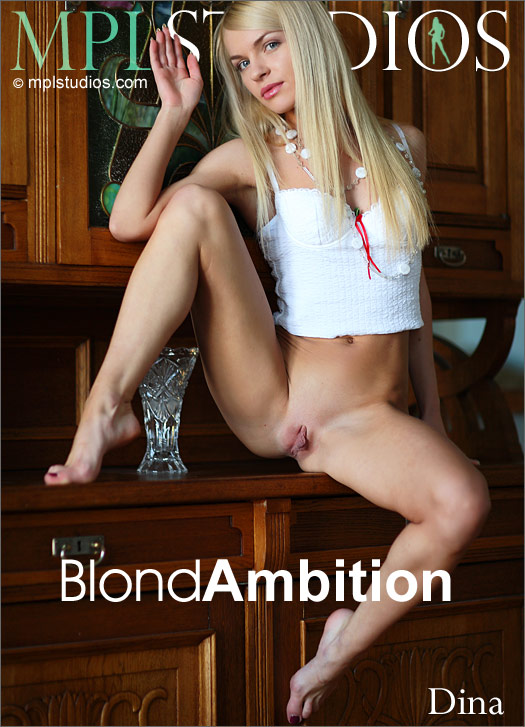 Dina - `Blond Ambition` - by Henry Sharpe for MPLSTUDIOS