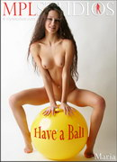 Maria in Have a Ball gallery from MPLSTUDIOS by Alexander Fedorov