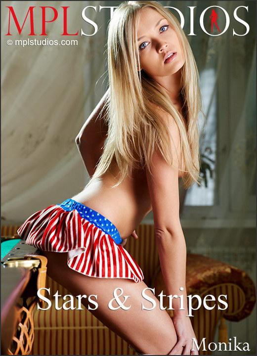Monika - `Stars & Stripes` - by Jan Svend for MPLSTUDIOS