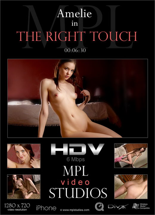 Amelie - `The Right Touch` - by Jan Svend for MPLSTUDIOS