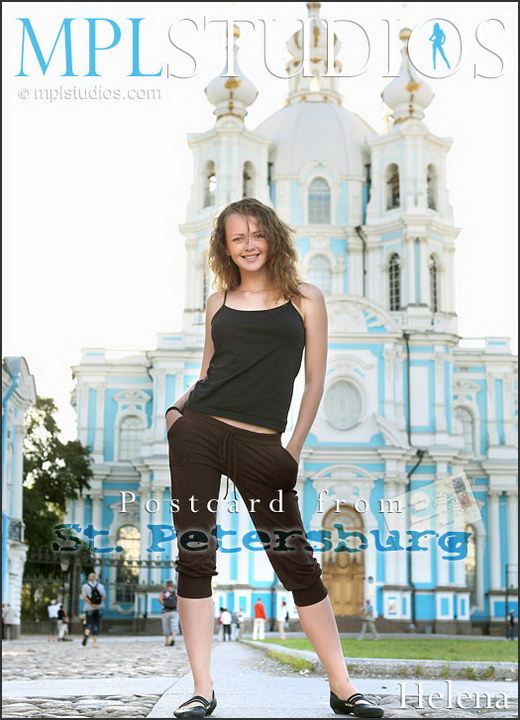 Helena - `Postcard St. Petersburg` - by Alexander Fedorov for MPLSTUDIOS