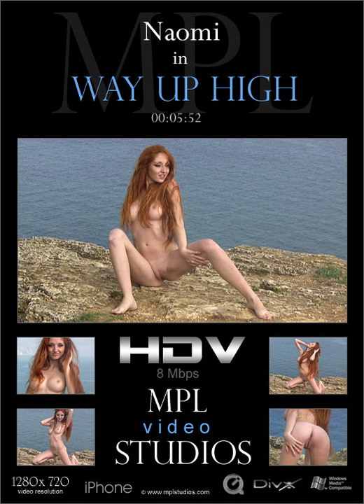 Naomi - `Way Up High` - by Aztek Santiago for MPLSTUDIOS