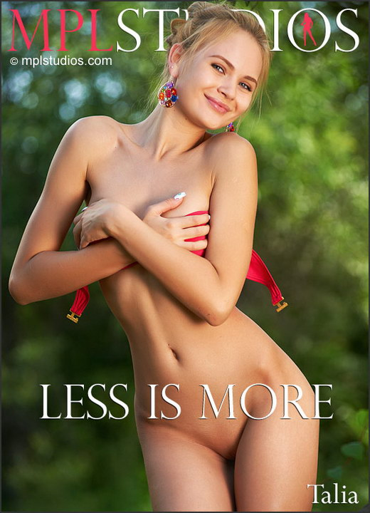 Talia - `Less Is More` - by Jan Svend for MPLSTUDIOS
