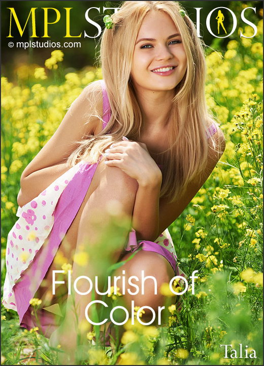 Talia - `Flourish of Color` - by Jan Svend for MPLSTUDIOS
