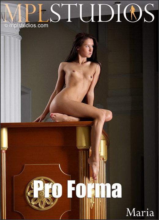 Maria - `Pro Forma` - by Alexander Fedorov for MPLSTUDIOS