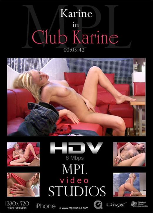 Karine - `Club Karine` - by Alexander Fedorov for MPLSTUDIOS