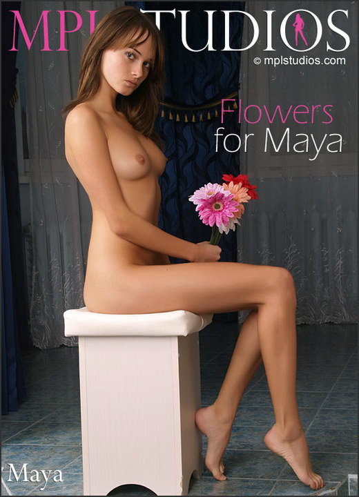 Maya - `Flowers for Maya` - by Aztek Santiago for MPLSTUDIOS