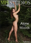 Sabrina in Alone In The Woods gallery from MPLSTUDIOS by Aztek Santiago