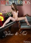 Helena - Yellow & Red