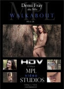 Mila in Walkabout video from MPLSTUDIOS by Alter