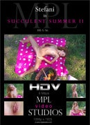Stefani in Summer Succence II video from MPLSTUDIOS by Anri