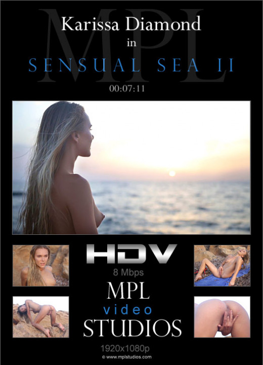 Karissa Diamond in Sensual Sea II video from MPLSTUDIOS by Bobby