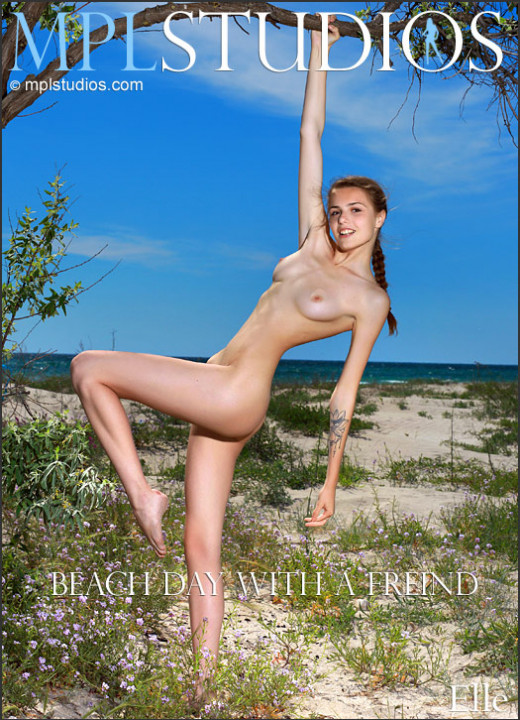 Elle in Beach Day With A Friend gallery from MPLSTUDIOS by Jey Mango
