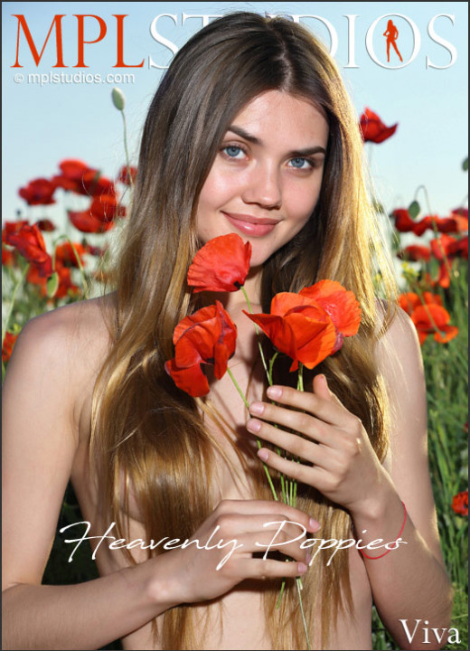 Viva - `Heavenly Poppies` - by Jey Mango for MPLSTUDIOS