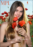 Viva in Heavenly Poppies gallery from MPLSTUDIOS by Jey Mango