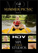 Cali in Summer Picnic video from MPLSTUDIOS by Randy Saleen