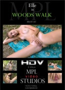 Elle in Woods Walk video from MPLSTUDIOS by Jey Mango