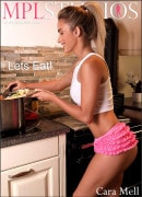 Cara Mell in Lets Eat! gallery from MPLSTUDIOS by Thierry