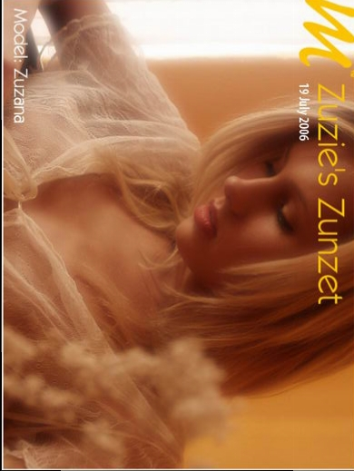 Zuzana - `Zuzie's Zunzet` - by Richard Murrian for MUSE