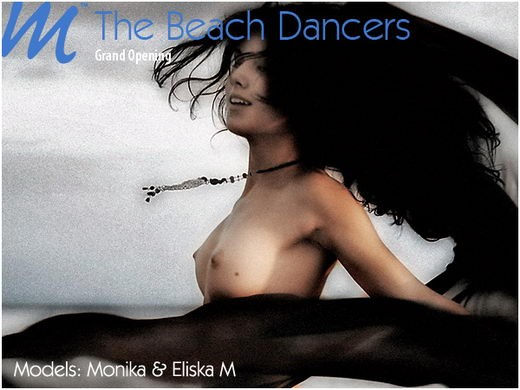 Monika & Eliska - `Beach Dancers` - by Richard Murrian for MUSE