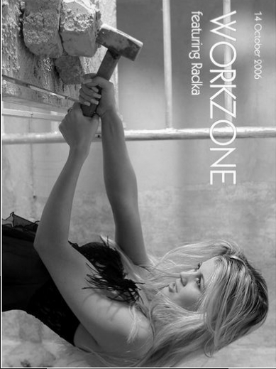 Radka - `Workzone` - by Richard Murrian for MUSE