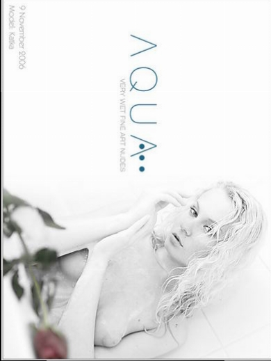 Katka - `Aqua` - by Richard Murrian for MUSE