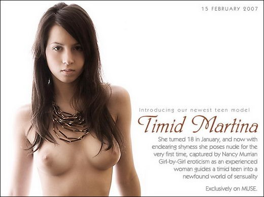 Martina - `Timid` - by Richard Murrian for MUSE
