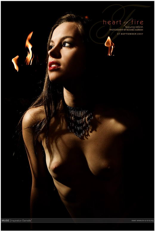 Misha - `Heart Of Fire` - by Richard Murrian for MUSE