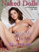 Anita in Meet me in my Boudoir gallery from MY NAKED DOLLS by Tony Murano