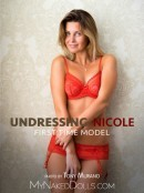 Undressing Nicole gallery from MY NAKED DOLLS by Tony Murano