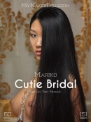 Mariko in Cutie Bridal gallery from MY NAKED DOLLS by Tony Murano