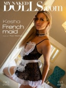 Kesha in French Maid gallery from MY NAKED DOLLS by Tony Murano