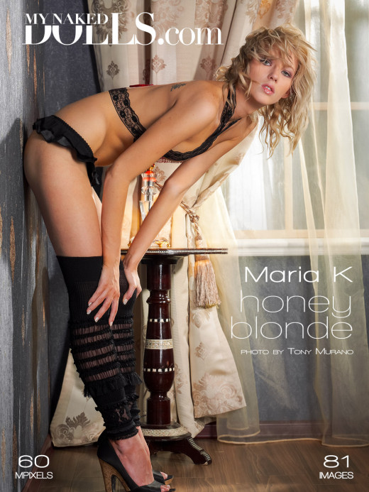 Maria K in Honey Blonde gallery from MY NAKED DOLLS by Tony Murano