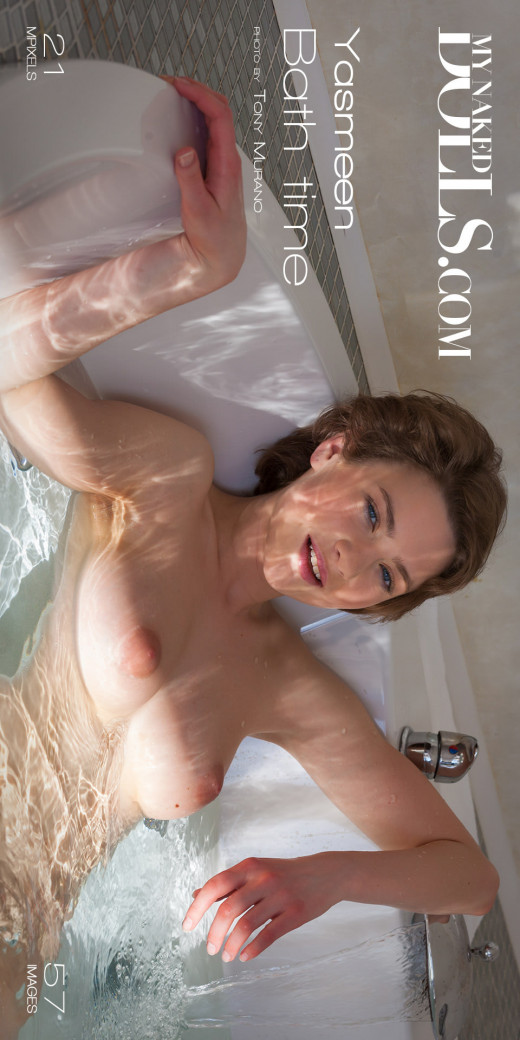 Yasmeen in Bath Time gallery from MY NAKED DOLLS by Tony Murano
