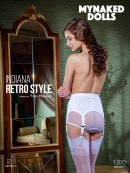 Indiana in Retro Style gallery from MY NAKED DOLLS by Tony Murano