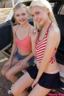 Chloe Cherry & Hannah Hays in Jizzwold Family Vacation Part 2 - S4:E1 gallery from MYFAMILYPIES