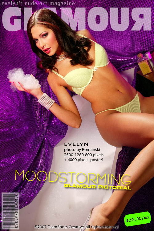 Evelyn Lory - `Moodstorming` - by Romanski for MYGLAMOURSITE