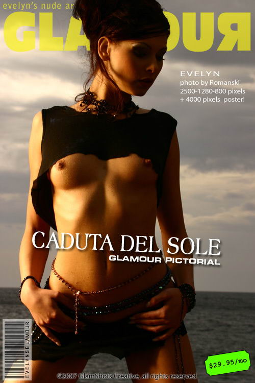 Evelyn Lory - `Caduta del Sole` - by Romanski for MYGLAMOURSITE