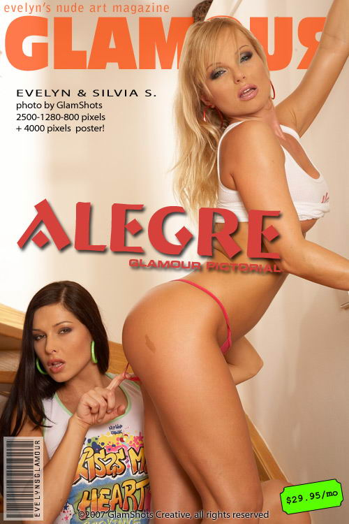 Evelyn Lory & Silvia Saint - `Alegre` - by Tom Veller for MYGLAMOURSITE