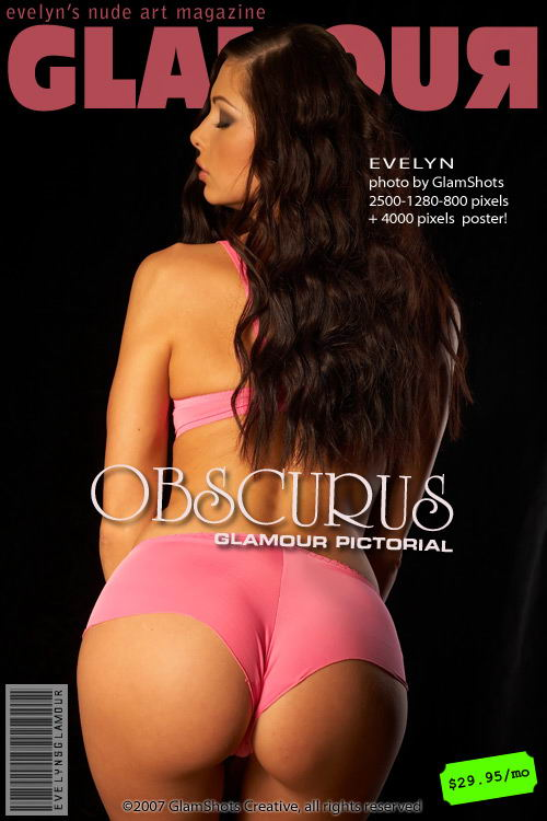 Evelyn Lory - `Obscurus` - by Tom Veller for MYGLAMOURSITE