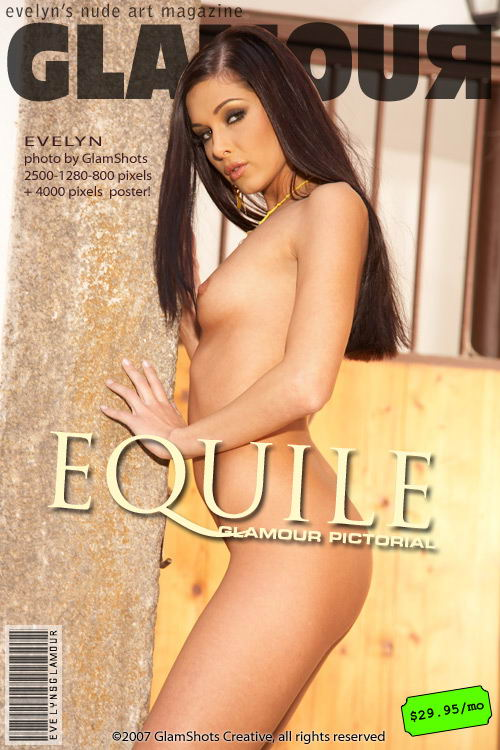Evelyn Lory - `Equile` - by Tom Veller for MYGLAMOURSITE