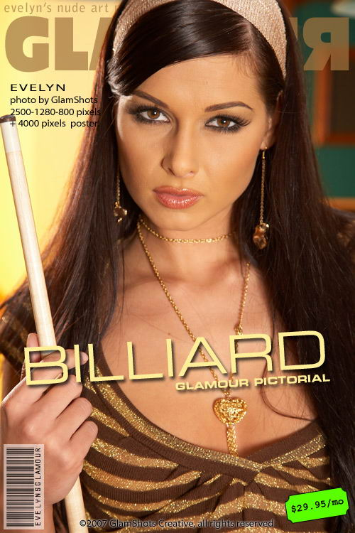 Evelyn Lory - `Billiard` - by Tom Veller for MYGLAMOURSITE