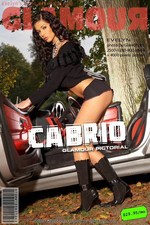 Evelyn Lory - `Cabrio` - by Tom Veller for MYGLAMOURSITE
