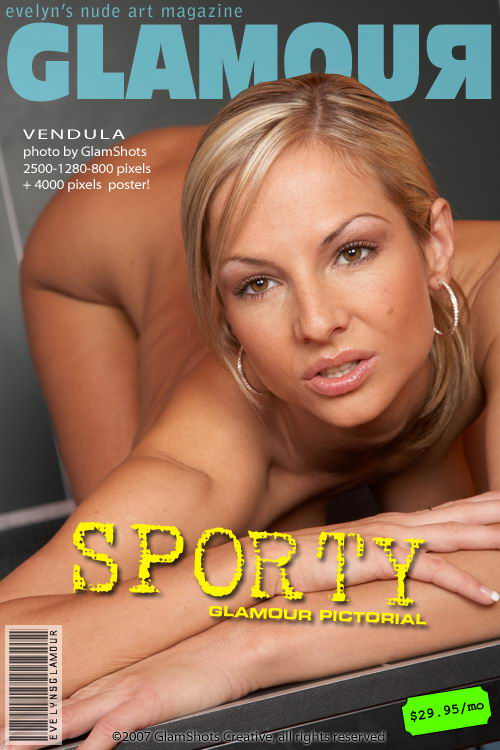 Vendula - `Sporty` - by Tom Veller for MYGLAMOURSITE