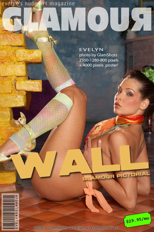 Evelyn Lory - `Wall` - by Tom Veller for MYGLAMOURSITE
