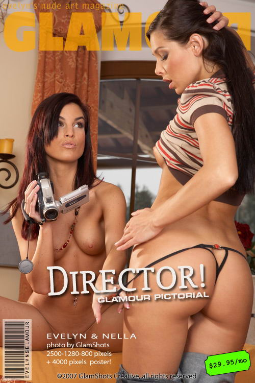 Evelyn Lory & Nella - `Director` - by Tom Veller for MYGLAMOURSITE